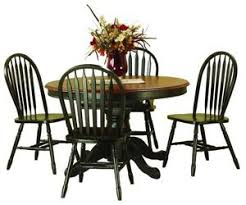 Pedestal Tables And Chairs Solid Oak Double Pedestal Table 2 18