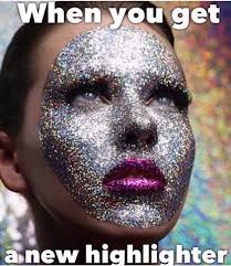 Too Much Makeup Meme - 2440f41458be6998ae4c9d7e91b70 glitter makeup sparkle makeup mojly