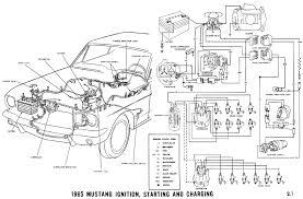 1965 mustang alternator wiring diagram gooddy org