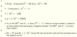 roots of real numbers and radicals questions with solutions for