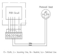 photocell sensor to control several lighting circuits electrical