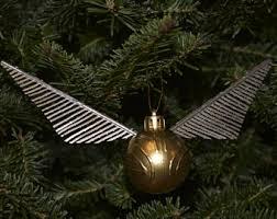 golden snitch ornament etsy