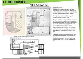 Villa Savoye Floor Plan Villa Savoye Random Compilation