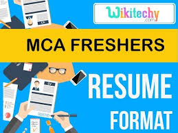 professional resume format for mca freshers pdf creator resume mca freshers resume sle resume resume templates