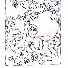 downloads online coloring page adam and eve coloring page 27 in