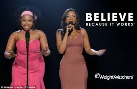target black friday commercial 2012 singers jennifer hudson is unrecognisable she does a duet with her former