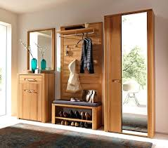 shoe storage cabinet with large doors rack cushion bench entryway