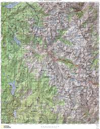 Paper Towns On Maps Jmt Topo Maps Onthetrail Org On The Trail Guide To The Outdoors
