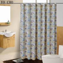 Nautical Bathroom Curtains Popular Nautical Bath Curtain Buy Cheap Nautical Bath Curtain Lots