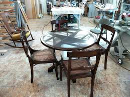 bylers patio round table amish 72 inch round dining table large