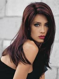 Dark Hair Colors And Styles Straight Long Dark Hair With Highlights Love The Cut
