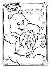 222 care bears coloring pages images care