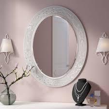 Etched Bathroom Mirror Etched Bathroom Wall Mirror Wayfair
