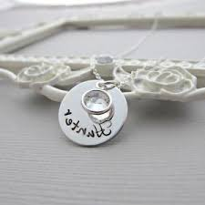 White Gold Personalized Necklace White Gold Monogram Necklace Different Ksvhs Jewellery