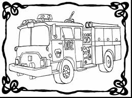 great fire engine coloring with firetruck coloring page