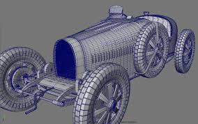 resume paper type 1929 bugatti type 35 bugatti type 35c front quarter wireframe