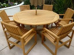 Teak Patio Furniture Patio Ideas 36 Round Teak Patio Table Round Wood Outdoor Table