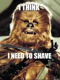 Chewbacca Memes - chewbacca shaving memes memes pics 2018