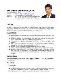 Sample Resume For Staff Accountant by Cpa Resume Resume Cv Cover Letter