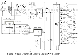 universal digital power supply circuit power supply based