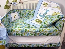 Soho Crib Bedding Set Soho Dinosaur Baby Crib Nursery Bedding Set 14 Pcs