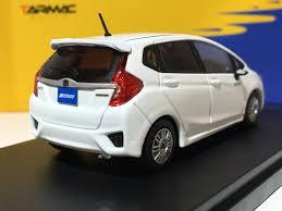 honda white car tarmac works 1 43 honda fit rs 3rd gen spoon sports white