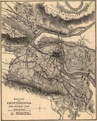 Historic Map Works Battle Of Chattanooga Civil War Trust