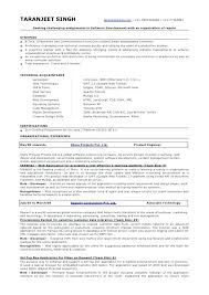 best sample resume for experienced software engineer pdf photos