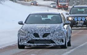 new 2018 renault megane rs spied in production trim prototype