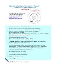 marine manuals diesel engine engines