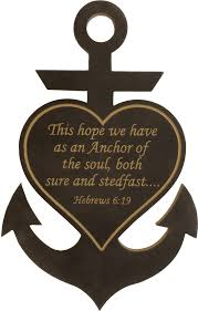 Love Anchors The Soul Hebrews - door hanger hebrews 6 19 this hope we have as an anchor of the