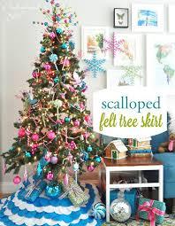 free christmas tree skirt patterns u2013 bomquilts com