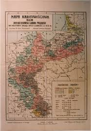 Ethnic Map Of Los Angeles by Ethnic Map Of The Former Prussian Partition Lands Based On The
