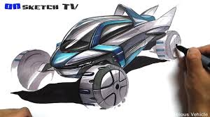 futuristic cars drawings 온스케치 tv car sketch