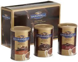 hot chocolate gift basket ghirardelli chocolate premium hot cocoa sler 3