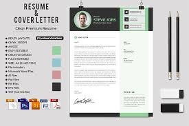 Steve Jobs Resume Pdf by Clean Resume Cv Cover Letter Bundle Resume Templates Creative