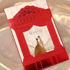 tri fold invitations 30pcs and groom laser cut wedding invitations card
