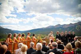 breckenridge wedding venues lodge and spa at breckenridge wedding venue brian kraft photography