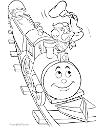 Coloring Pictures Of Trains Cute Coloring Rail Color Page