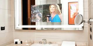 Mirror Bathroom Tv Mirror With Tv In It Bathroom Spectrum Smart Display Electric