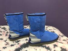 s suede boots size 9 ugg australia serape skyline blue boots size 9 ebay