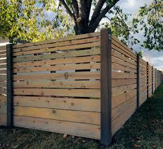 Modern Fence by Modern Horizontal Fence Google Search Fences Pinterest
