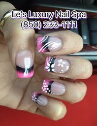 le u0027s luxury nails u0026 tanning luxurious nail salon in panama city