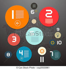 circle layout vector circle paper vector infographics layout clip art vector search