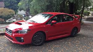 subaru legacy 2016 red subaru wrx sti 2016 review by car magazine