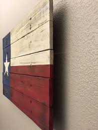 bold wood state flag wall hanging wall