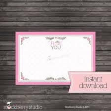 printable thank you cards princess printable thank you card vintage princess baby girl baby shower
