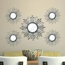 Wall Mirror Sets Decorative Wall Ideas Hosley Decorative Wall Mirror Set Of 3 Decorative