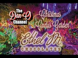ethel m chocolate factory las vegas holiday lights ethel m chocolate factory christmas cactus garden in henderson
