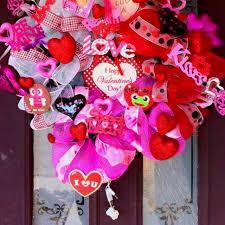 Hallmark Valentines Day Decor by 152 Best For The Door Valentines Images On Pinterest Valentine